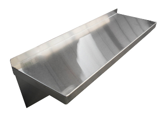Olympic Stainless Steel Wall Shelving
