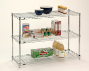 Professionals Choice 3-Shelf Wire Unit